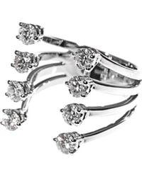 Delfina Delettrez - White Diamond and Gold Ring - Lyst