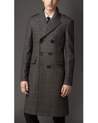 Burberry Virgin Wool Cashmere Greatcoat - Lyst