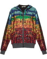 Preen Line - Sequin Hooded Sweatshirt - Lyst