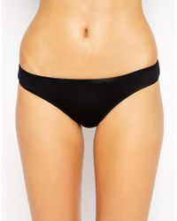 Seafolly Goddess Bow Back Brazilian Bikini Bottoms - Lyst