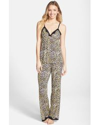 Betsey Johnson Camisole Pajamas - Lyst