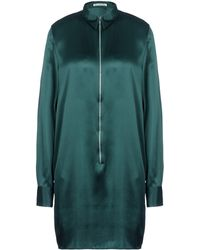 Acne Studios Green Short Dress - Lyst