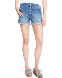 Madewell | 'high Riser' Denim Shorts | Lyst
