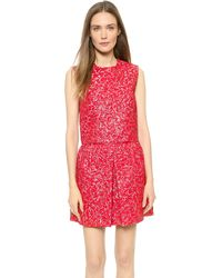 Giambattista Valli Cloquet Crop Top - Red - Lyst