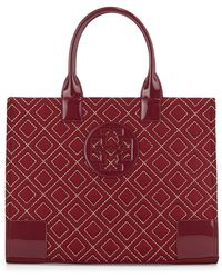Tory Burch Ella Quilted Nylon Tote Bag - Lyst