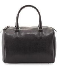 Furla Dlight Leather Satchel Bag - Lyst