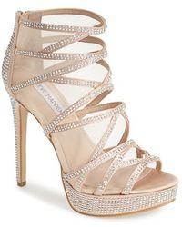 Steve Madden Women'S 'Dame' Platform Sandal - Lyst
