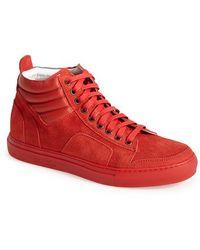 Del Toro '359 Boxing' Suede Sneaker - Lyst