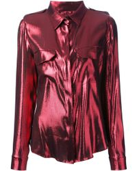 Lanvin Loose Fit Blouse - Lyst