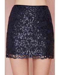 Nasty Gal Joa Retribution Sequin Skirt - Lyst