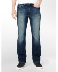 Calvin Klein Jeans Modern Boot Leg Nova Wash Jeans - Lyst