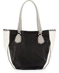 orYANY Lyssie Colorblock Tote Bag black - Lyst