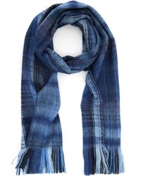 Our Legacy | Plaid Brushed Wool-Blend Scarf | Lyst