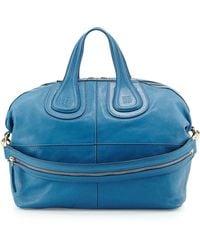 Givenchy Nightingale Medium Leather Satchel Bag - Lyst