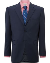 Howick Tailored Bridgeman Notch Twill Suit Jacket - Lyst