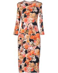 Givenchy Knee-Length Dress - Lyst