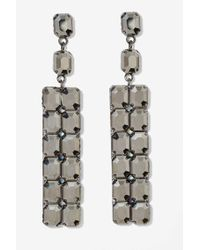 Nasty Gal Stone Cold Drop Earrings - Lyst