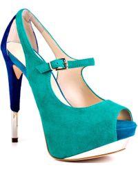 Boutique 9 Nickeya green - Lyst