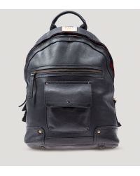 Will Leather Goods Black Silas Backpack - Lyst