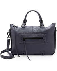 She + Lo - Rise Above Satchel - Slate - Lyst