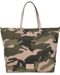Valentino Camouflage Patchwork Tote Bag - Lyst