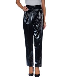 Isa Arfen Black Casual Trouser - Lyst