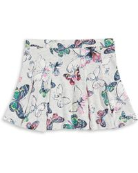 Jessica Simpson - Selena Butterfly Skater Skirt - Lyst