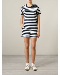 Petit Bateau - Striped Shorts - Lyst