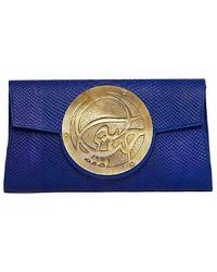 Dareen Hakim | Le Icon - Cobalt Python/Bronze | Lyst
