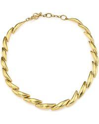 Vaubel - Curved Link Collar Necklace - Lyst