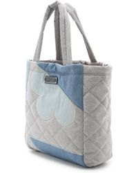 Marc By Marc Jacobs - Crosby Quilt Denim Tote - Pacific Ocean Chambray Multi - Lyst