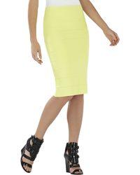 BCBGMAXAZRIA Pencil Skirt - Lyst