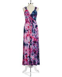 Spense - Tie Dyed Maxi Dress - Lyst
