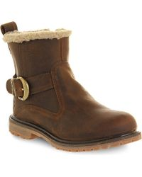 Timberland Nellie Biker Ankle Boots - Lyst