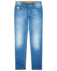Billionaire - Light Wash Slim Jeans - Lyst