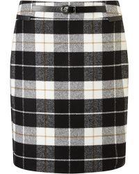 Gerry Weber - Check Skirt - Lyst