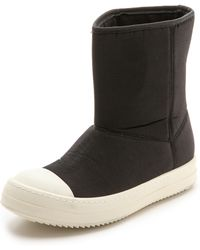 DRKSHDW by Rick Owens - Padded Ramones Low Boots - Black - Lyst