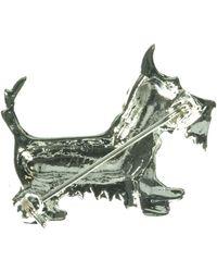 Indulgence Jewellery - Crystal Dog Brooch - Lyst