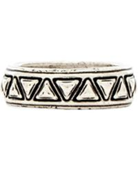 House Of Harlow Triangle Plateau Midi Ring - Lyst
