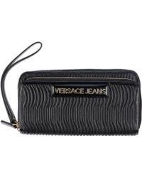 Versace Jeans Wallet - Lyst