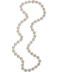 Irene Neuwirth | Cabochon Rainbow Moonstone Necklace | Lyst