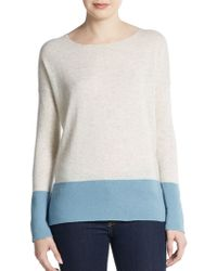 Vince Colorblock Sweater - Lyst