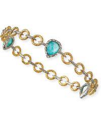 Alexis Bittar Amazonite Elements Bangle Bracelet - Lyst