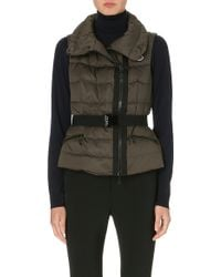 Moncler Classic Quilted Gilet - Lyst