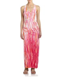 Young Fabulous & Broke Sienna Tie-Dye Maxi Dress - Lyst