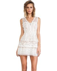 BCBGMAXAZRIA Fola Dress - Lyst