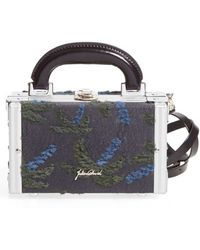 Julien David - Textured Print Bag - Lyst