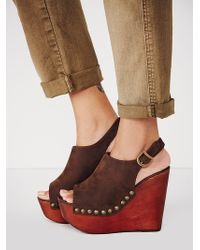 Jeffrey Campbell Olivia Wedge - Lyst