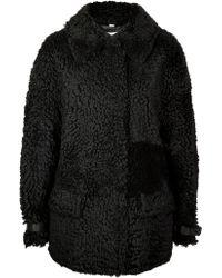 Burberry London Eccleston Shearling Jacket - Lyst