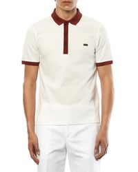 Burberry Cottonpiqué Polo Shirt - Lyst